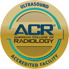 seal for american college of radiology in ultrasound award